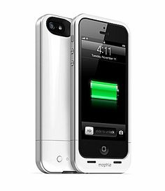 Double your battery time with the Mophie Juice Pack