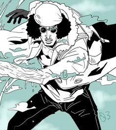 One Piece, Kuzan