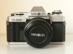 Minolta X-300 Vintage SLR Camera With 50mm Prime by CameraEmporium