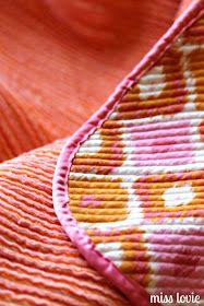 Miss Lovie: Faux Chenille Baby Blanket