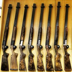 A selection of #perazzi guns we currently have in stock here at the #iancoleygunroom