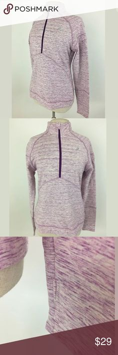 Asics sweatshirt with thumbholes Perfect condition! Bust: 39 Waist: 34 Shoulder to hem: 24  57% cotton, 38% polyester, 5% Spandex     Item: 111 Asics Tops Sweatshirts & Hoodies
