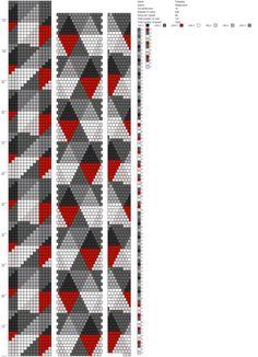 14 around bead crochet rope pattern Bead Crochet Patterns, Seed Bead Patterns, Bead Crochet Rope, Beaded Jewelry Patterns, Loom Patterns, Beading Patterns, Beading Tutorials, Seed Bead Jewelry, Bead Jewellery