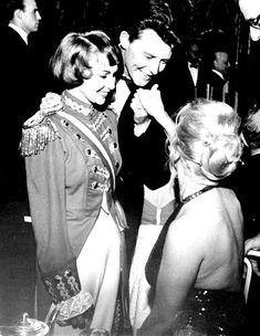 Marilyn Monroe at the April in Paris Ball, 1957.