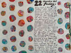 art journaling by Zoe Ford