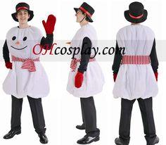 Christmas Snowman Cosplay Costume