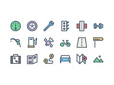 Today we're giving away a set of icons for when you're on the go. Drive safely and download from our site: http://www.epicpxls.com/freebies/icons/road-icons