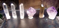 Lot of Crystals  large Crystals  Amethyst Crystal by CoyoteRainbow, $22.00