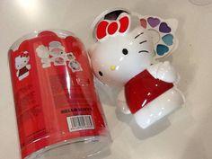 Trousse 3D make up tavolozza trucchi Hello Kitty idea regalo sconto 40%
