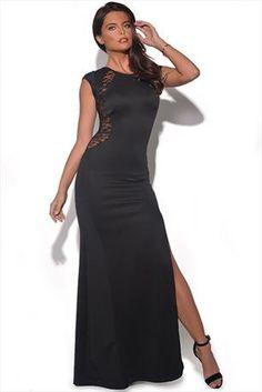 Side Slit Maxi Dress