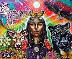 Art by @isabel_mariposa_galactica #psychedelic #psychedelicart #psychedelics #art #painting #visionary #psicodelia #acrylic #magic #thc #lsd #floweroflife #dmt #energy #arte #acid #love #artista #beautiful #artists #shrooms #fractal #trippy #gypsy #meditation #thirdeye #mystic #colorful #pintura #peace by psychedelicpaintt