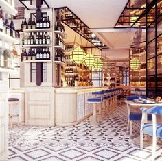 16 Breathtaking Restaurants to Add to Your Bucket List // Hotel Cort, Mallorca