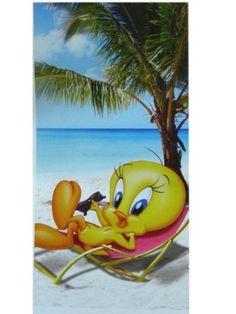 Tweety Bird at the Beach... I want it!!