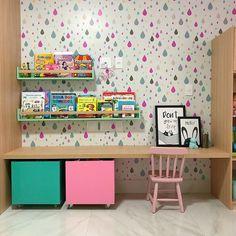 Children's Study Furniture Diy Bedroom Decor For Teens, Baby Room Decor, Girls Bedroom, Kids Room Art, Kids Room Design, Kids Room Organization, Kids Furniture, Girl Room, Decoration