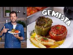Vega is és görög is, mi az? Hát a gemista! Salmon Burgers, Vegan Recipes, Make It Yourself, Ethnic Recipes, Youtube, Food, Salmon Patties, Vegane Rezepte, Eten