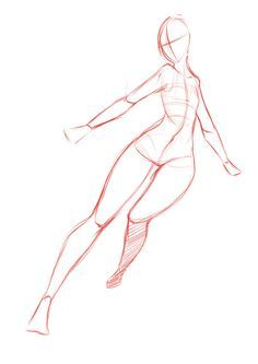 Figure Drawing Poses Pose by rika-dono - Drawing Reference Poses, Anatomy Reference, Design Reference, Drawing Tips, Drawing Tutorials, Art Tutorials, Drawing Ideas, Drawing Base, Figure Drawing