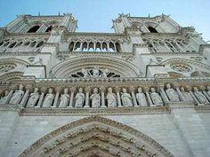 Detalhes da Notre Dame de Paris