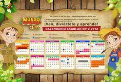 Diseño de Calendario Escolar