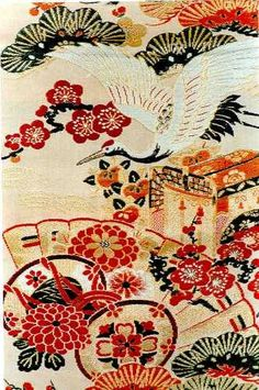 Japanese Textile Art | Framed Art