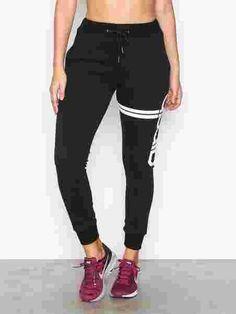 Sweat Pants - Aim'n - Svart - Tights & Bukser - Sportsklær - Kvinne - Nelly.com Sweat Pants, Black Jeans, Tights, Sweaters, Fashion, Navy Tights, Moda, La Mode, Pullover