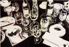 """""""After The Party"""" by Andy Warhol. Screenprint. 1979."""