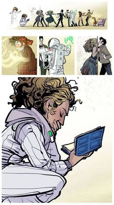 The Story of River Song | artist: Patrick Wiscombe