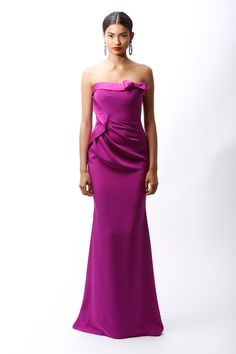 PANTONE Color of the Year 2014 - Radiant Orchid in Fashion -  Badgley Mischka