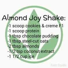 Almond Joy Herbalife shake