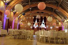 wedding paper lantern decoration by individual by design Retford