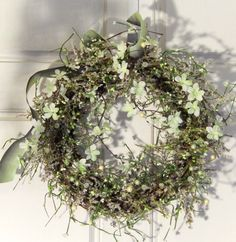 Spring Wreath  Easter Wreath Wreath For Front Door by forevermore1, $69.00