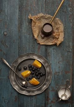 love this simple food styling by Dario Milano
