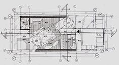 Planta Arquitectónica. Villa de descanso. Brayan Hdz. Chavarria
