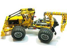 LEGO Ideas - Grapple Skidder