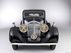 Bentley 3 1-2 litre coupe 1935