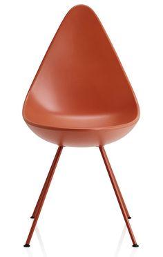 Chaise en plastique Drop, Arne Jacobsen (Fritz Hansen)