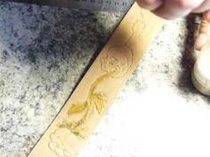 Как не закрасить определённые участки рисунка на коже в технике карвинг?...
