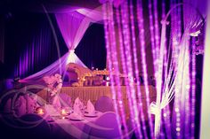 Purple wedding  Floral & Design by
