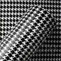 Papel Parede Em Vinil Adesivo 3d Alltak Pied Poule 1m X 60cm    no ML