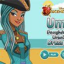 Descendientes 2: vestir a Uma hija de Ursula