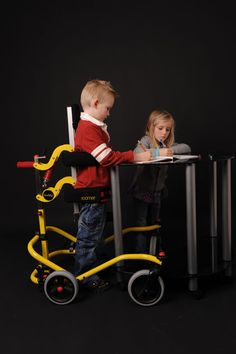 The Buddy Roamer™ is a posterior walking aid that provides partial weight bearing postural support with mobility.