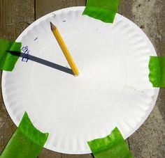 Finding the Teachable Moments: Sun Unit, sun dial idea