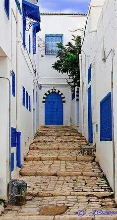 Beautiful Houses of Tunisia - Sidibosaid