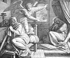 Bilder der Bibel - Josephs Traum - Julius Schnorr von Carolsfeld