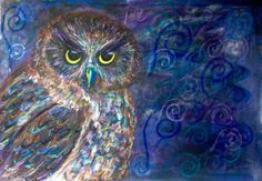 Messenger Of The Gods by Jane Creighton in Painting Wildlife: Acrylic Mixed Media  @ www.Craftsy.com