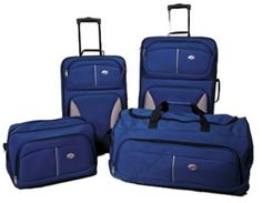 [DEAL] American Tourister Unisex - Adult Fieldbrook 4 Piece Luggage Set {$69.99 shipped} Reg. $200 | Closet of Free Samples