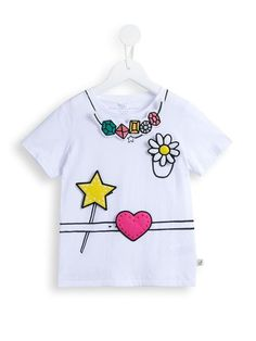 Stella Mccartney Kids 'Arlo Funny' T-shirt