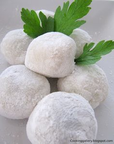 Cooking Gallery: Quick and Easy Red Bean Mochi