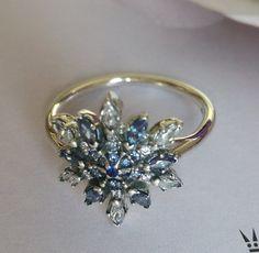 anello fiocco perla pandora