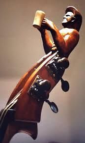 carved scroll double bass - Google Search