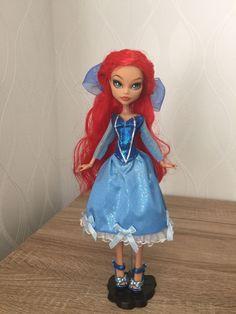 Custom Monster High - Little Mermaid Ariel Doll OOAK
